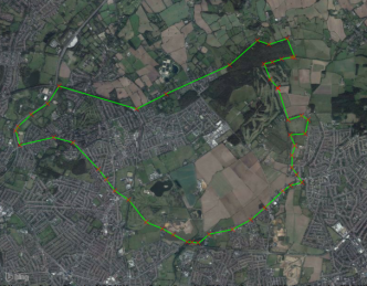 hainault outline