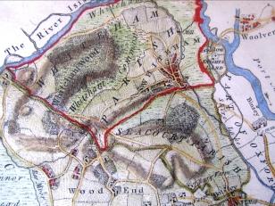 Rocque Map c1780