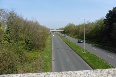 Milton Keyness road and verges