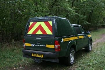18_9 Bernwood RFS forestry van